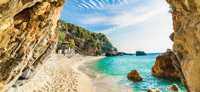 Las playas más bonitas de Corfú
