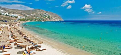 Las playas más hermosas de Mykonos