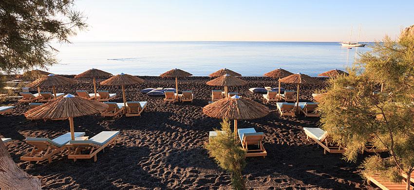 Las playas más hermosas de Santorini