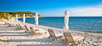 Le spiagge vicino Salonicco