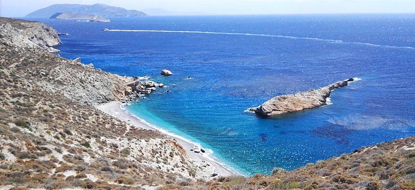 Folegandros Spiaggia Katergò