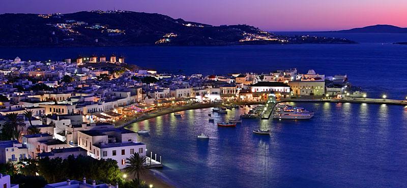 Mykonos Città, il capoluogo dell'isola