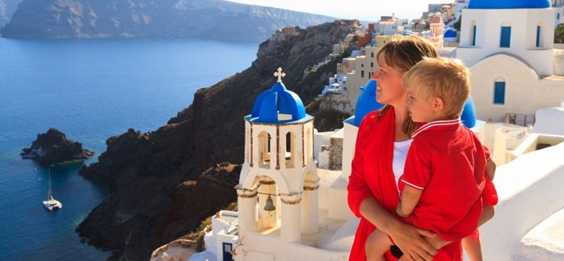 Hotel per famiglie a Santorini