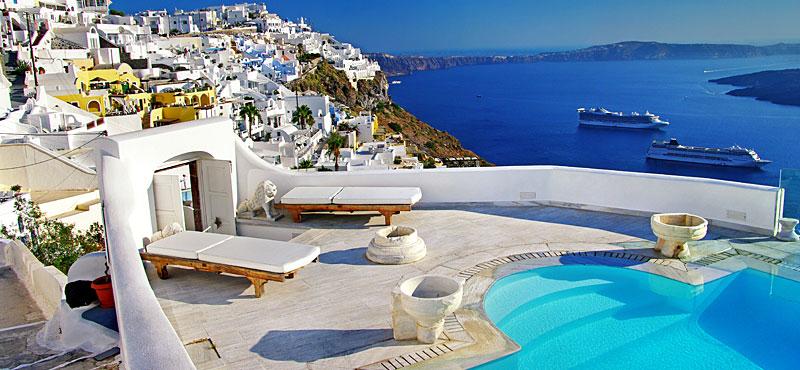 Hotel di lusso a Santorini