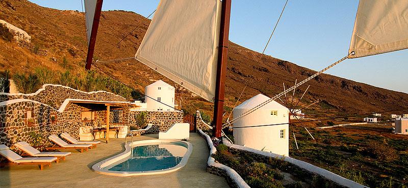 Santorini hotel mulino a vento