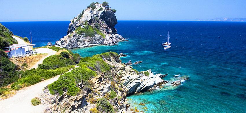 Skopelos Come Arrivare Come Spostarsi E Dove Dormire Grecia Info